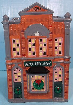 "DEPARTMENT 56 ORIGINAL SNOW VILLAGE SERIES ""APOTHECARY"" #5076-8"