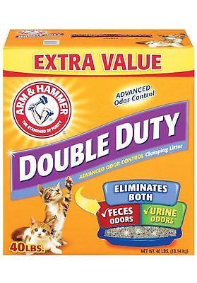 Arm&hammer Double Duty Cat Litter 40lbs