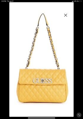GUESS SWEET CANDY QUILTED SHOULDER BAG
