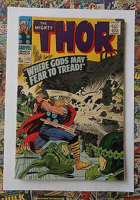 THOR #132 - SEPT 1966 - 1st EGO THE LIVING PLANET APPEARANCE! - FN/VFN (7.0) HOT