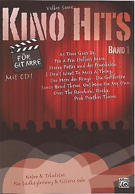 Gitarre & Liedbegleitung - KINO HITS für GITARRE - BAND 1 - mit CD