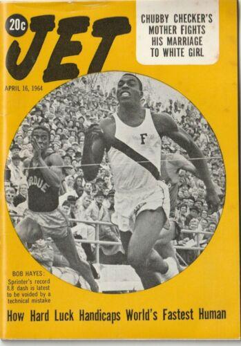 VTG April 1964 Jet Magazine Civil Rights Era Equality Black History Bob Hayes