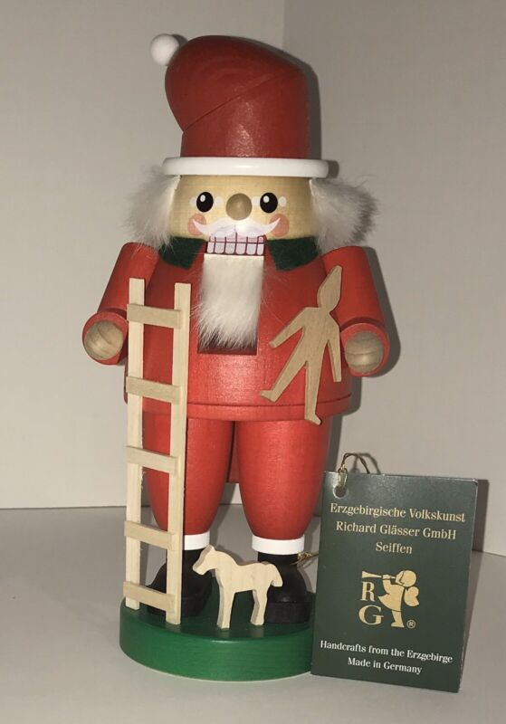 German Nutcracker Santa Wooden Toymaker Christmas Holiday Gift Red