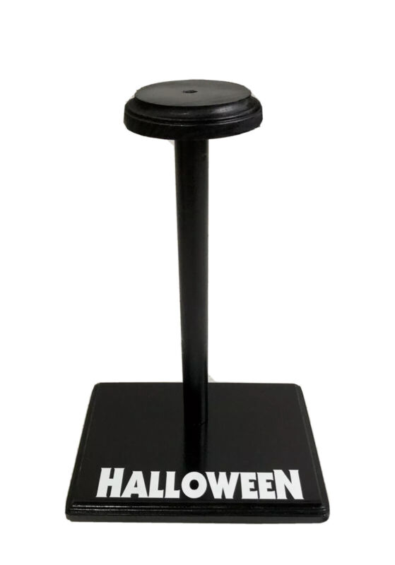 HALLOWEEN MICHAEL MYERS 🎃 Custom Mask Display Stand For Trick Or Treat Studios