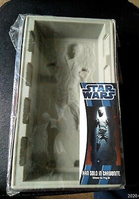 STAR WARS -  Hans Solo in Carbonite - Silicone Ice Tray DX - KOTOBUKIYA 2012