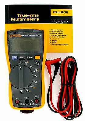 Fluke 115 Dmm Compact True Rms Digital Multimeter