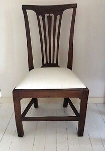 Solid Old Elm Wood Chair Port Macquarie Port Macquarie City Preview