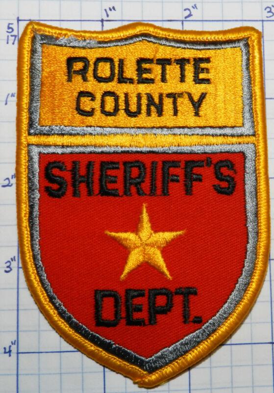 NORTH DAKOTA, ROLETTE COUNTY SHERIFF