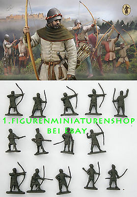 1:72 FIGUREN M117 English Longbowmen - STRELETS NEU