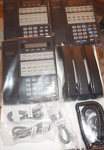 NEC 80573 22b phone DS1000/DS2000 REFURB w/ CORDS clean, ready to use GUARANTEE.