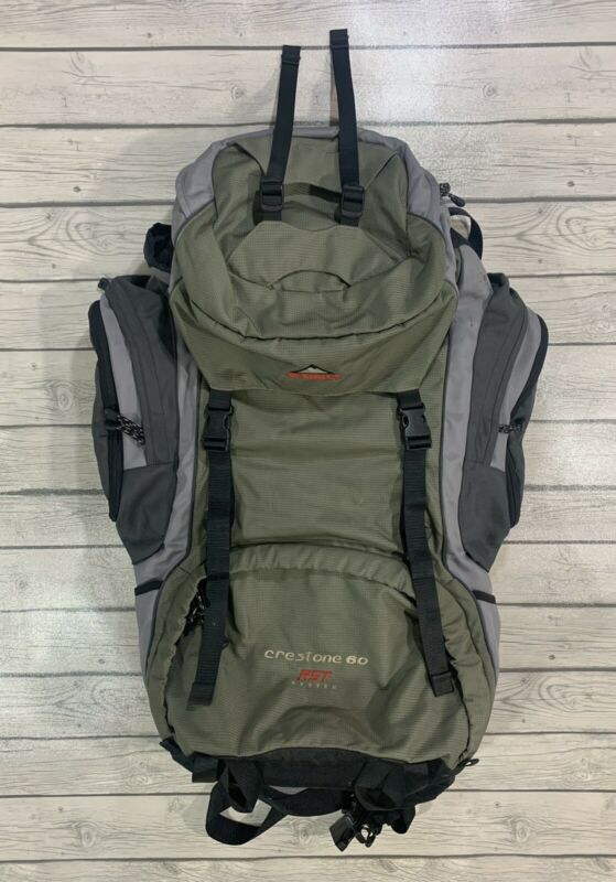 McKINLEY Yukon 60L Backpack Trekking Hiking Flex Pro System Outdoor Camping