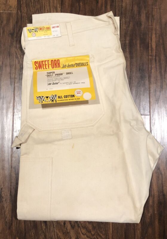 Vintage Sweet Orr Union Made, Job Tested Painters Pants, 38x30, See Pics.