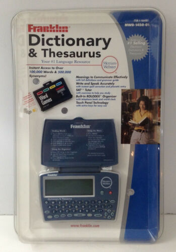 Franklin MWD-1450 Merriam-Webster Dictionary Thesaurus