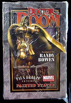 Dr. Doom Faux Bronze Statue New 2008 Bowen Designs Marvel Comics FF4 Amricons - Dr Doom Statue
