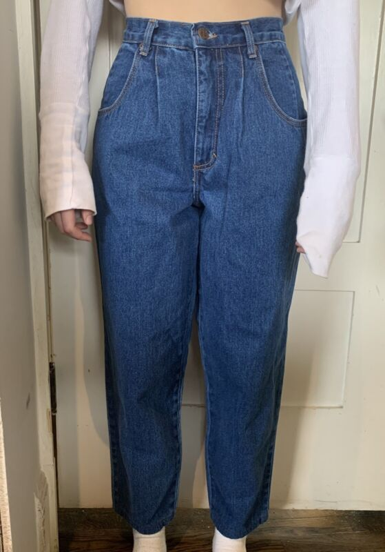 Hang Ten Vintage 1980's Mom Jeans Size 7/8 USA