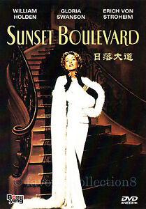 Sunset Boulevard (1950) - William Holden, Gloria Swanson - DVD NEW
