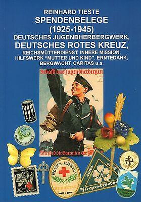 Spendenbelege des DJH Deutsches Rotes Kreuz Reichsmütterdienst Buch Katalog