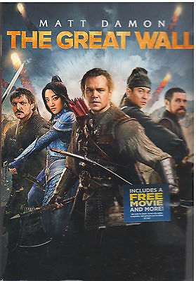 Great Wall  Dvd  2017  New With Sleeve