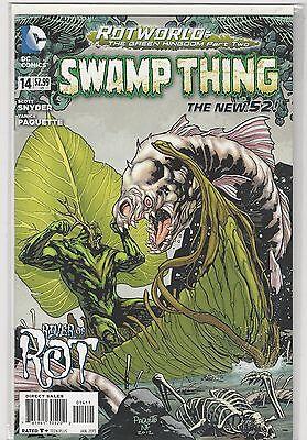 Swamp Thing #14 New 52 vol 5 DC Comics 2011 VF/NM