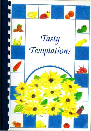 * GLADEWATER TX 1996 FIRST CHURCH OF THE NAZARENE COOK BOOK * TASTY TEMPTATIONS