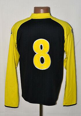 AZ ALKMAAR NETHERLAND 2010/2011 AWAY FOOTBALL SHIRT JERSEY Q1905 #8 LONG SLEEVE image