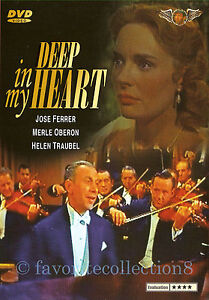 Deep in My Heart (1954) - José Ferrer, Merle Oberon  - DVD NEW