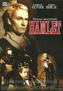Hamlet (1948) - William Shakespeare, Laurence Olivier - DVD NEW