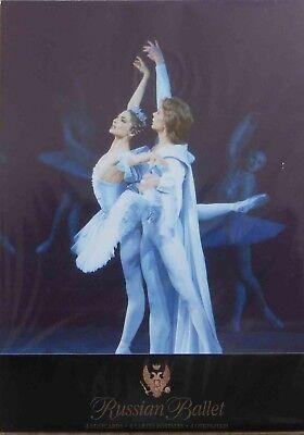 4 Russian Kirov Ballet postcards from the Mariinsky Theatre, St Petersburg
