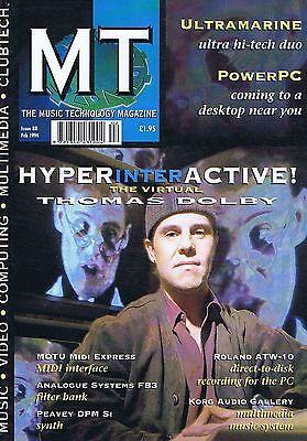 THOMAS DOLBY / ULTRAMARINEMusic TechnologyFeb1994