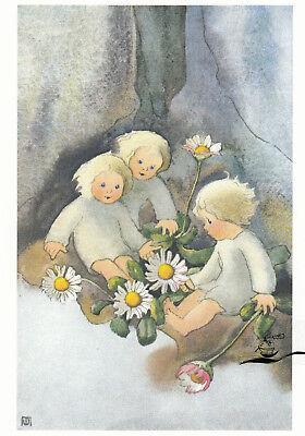 Kunstkarte: Mili Weber - Gänseblümchen
