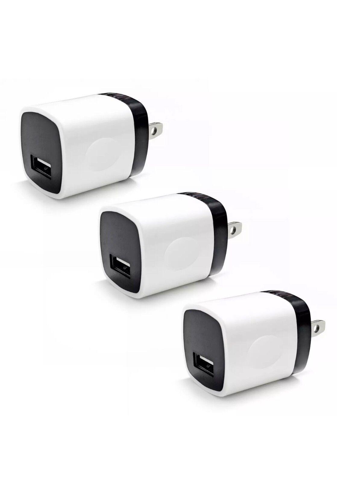 3x USB Wall Charger Power Adapter AC Home US Plug FOR Samsun