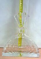 Bottiglia Design Colle In Cristallo Marchiata Rara Cm 21 Whisky Cognac Brandy -  - ebay.it