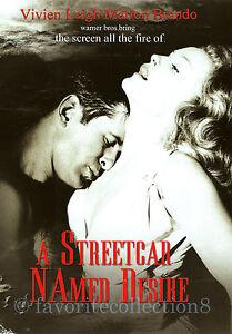 A Streetcar Named Desire (1951) - Vivien Leigh, Marlon Brando - DVD NEW