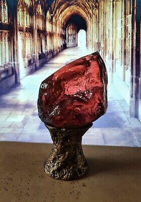 Riproduzione pietra filosofale Harry Potter fatta a mano