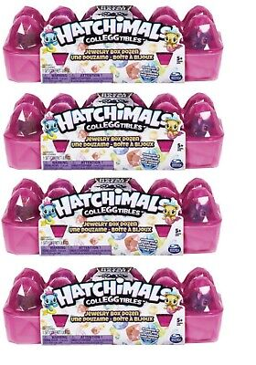 4X Hatchimals Colleggtibles Season 6 12 pack Royal jewelry box W/ 2 exclusive