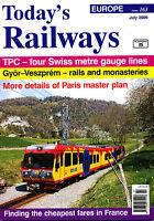 Today's Railways Europe 163 Jul 2009 Aigle Tpc Switzerland,gyor-veszprem,france - today's railway europe - ebay.co.uk