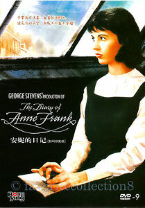 The Diary of Anne Frank (1959) - Millie Perkins, Shelley Winters - DVD NEW