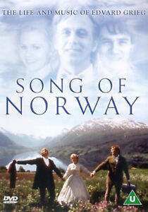 SONG OF NORWAY The Life And Music Of Edvard Grieg DVD UK Release New Sealed R2