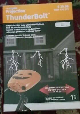 Halloween Projection 2019 (HALLOWEEN LIGHT SHOW PROJECTION THUNDER BOLT NEW IN)
