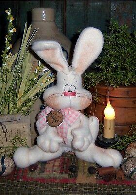 Primitive Patti's Ratties Spring Bunny Rabbit Doll Ornie Paper Pattern #415