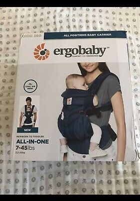 ERGOBABY OMNI 360 COOL AIR MESH ERGO BABY Carrier navy