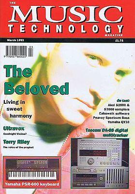 BELOVED / ULTRAVOX / TERRY RILEYMusic TechnologyMar1993