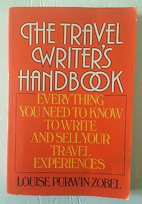 The Travel Writers Handbook  Nos  New Old Stock Free Usps Track Ship Confirm