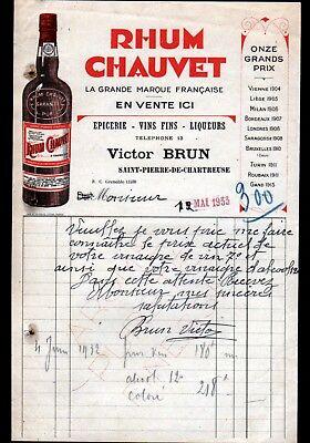 ST-PIERRE-CHARTREUSE (38) EPICERIE & ALCOOL