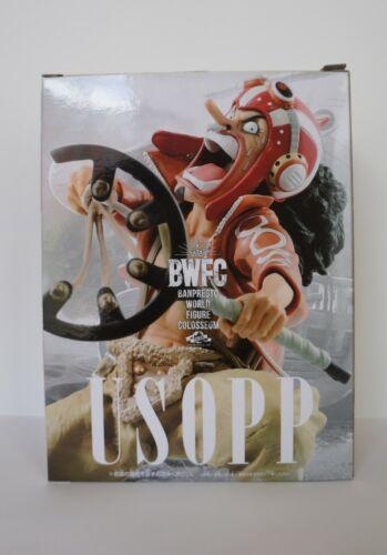 Authentic One Piece Banpresto World Figure Colosseum USOPP BWFC Figure
