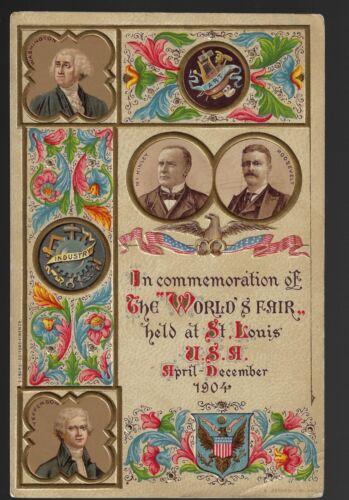 Gorgeous 1904 St Louis World
