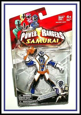 2011 Power Rangers Samurai _ Super Samurai Blue Ranger _ (MOC) (Blue Power Ranger Samurai)