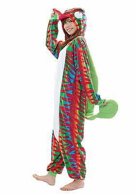 SAZAC Chameleon Kigurumi - Adult Costume from USA