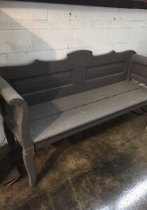 Antique Painted Bench - Europe