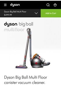 Dyson Big Ball Multi Floor canister vacuum cleaner